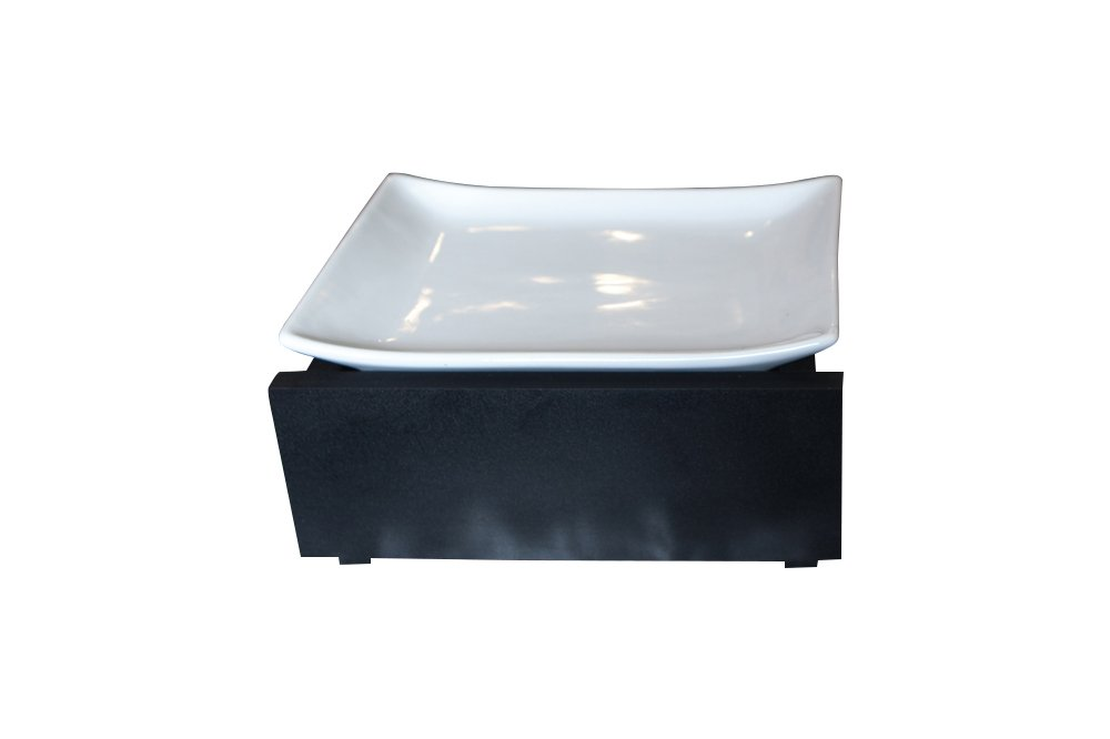 Trendy Pet Whisker Stress Free Bowl, 4'', Black