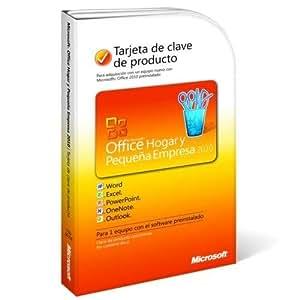 Microsoft Office Hogar Y Pequeña Empresa 2010 - Licencia Tarjeta De Clave Del Producto (PKC), Español, 1 Pc, Actualiza Gratis A La Versión 2013