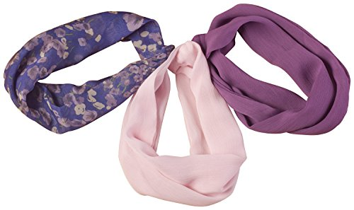 Miles Kimball Pansy Floral Cowls