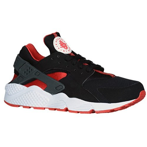 85d0025c1860 Galleon - Nike Air Huarache (BRED) Black University Red-University Red (9.5)