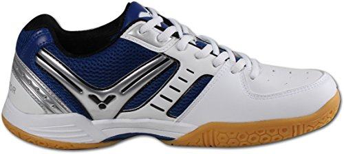 Victor Badminton nbsp;Indoor Sports 300 White V Blue Shoes Shoes wp7wFvxnq