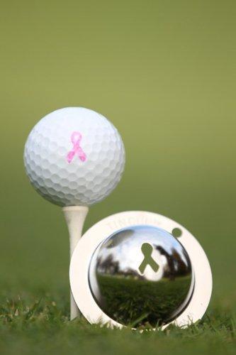 Tin CupゴルフボールマーキングシステムBreast Cancer Awareness   B00BFAKB9O