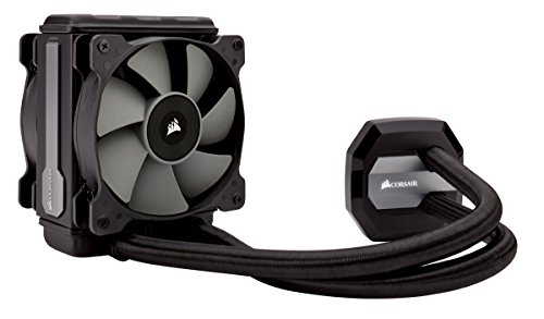 H80i v2 AIO Liquid CPU Cooler, 120mm Thick Radiator, Dual 120mm SP Series PWM Fans, Advanced RGB Lighting and Fan Software Control ()