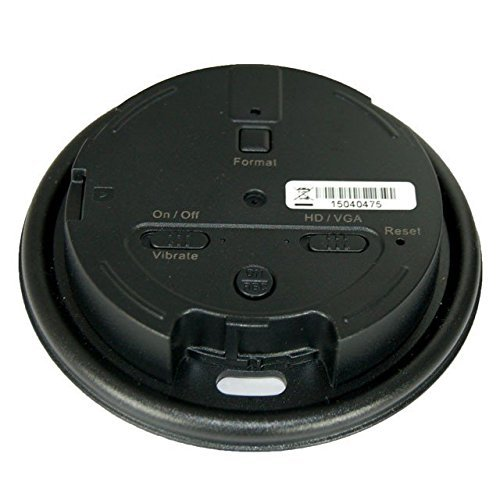 KJB Security Products DVR261 Coffee Cup Lid Style DVR with 720p Covert Camera