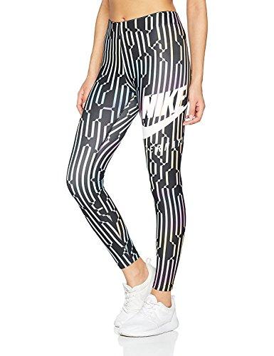 Nike Women's International Leggings Black/White/Multicolored (Medium)