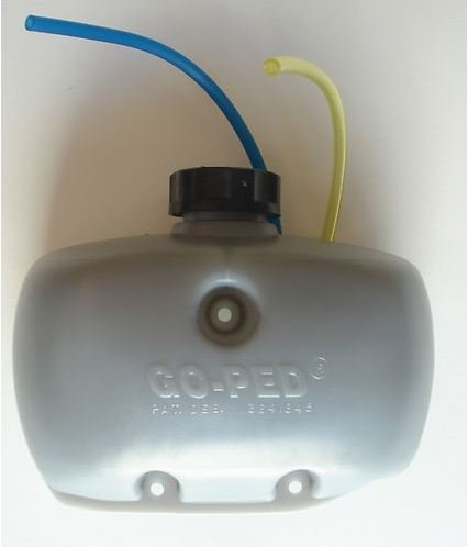 "Go-Ped Gas Tank Goped Part New Gas Tank 1 Liter 11.5"" Fuel Line Sport Liquimatic"