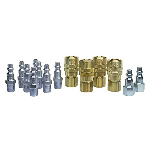 (Milton S-210 plus 2 couplers - 14 pc. M-Style Coupler Kit)