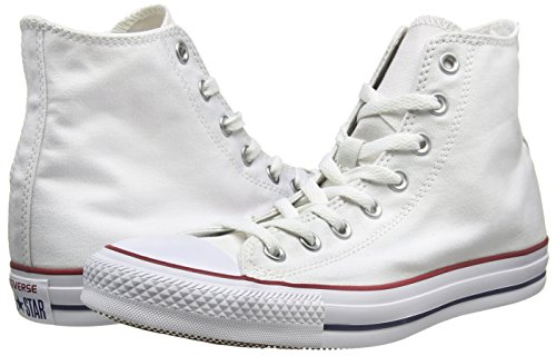 Canvas All Star Optical adulto Unisex Converse White Sneaker Hi 4qUx64tF
