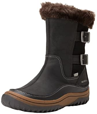 Amazon.com | Merrell Women's Decora Chant Waterproof Winter Boot ...