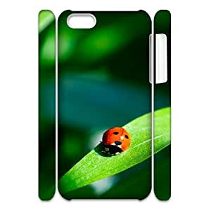 MEIMEIiphone 6 plus 5.5 inch Case 3D, Ladybug On The Green Leaf Case for iphone 6 plus 5.5 inch white lmiphone 6 plus 5.5 inch172445MEIMEI