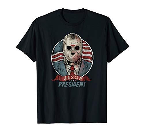 Jason Mask T-shirt Halloween Jason President T-shirt