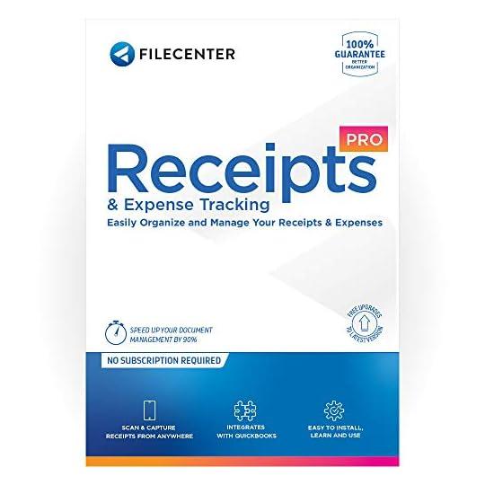 FileCenter Receipts 11 – Receipt Tracking Software [PC Download]
