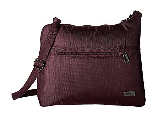 Pacsafe Women's Daysafe Anti-Theft Slim Crossbody Bag Blackberry One Size