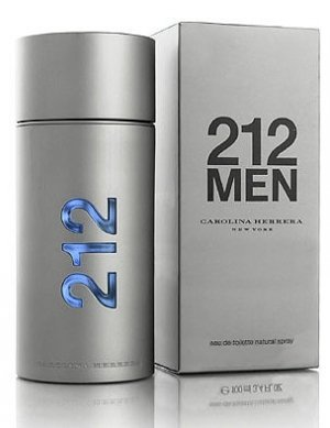 212 Men By Carolina Herrera, 1.7 Fl. Oz from Carolina Herrera