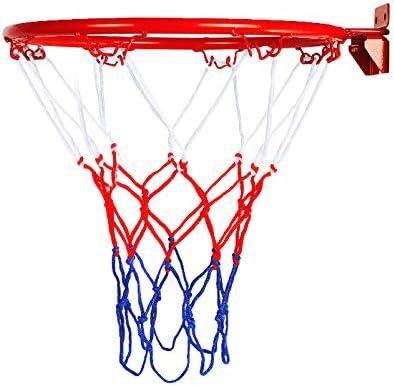para Montar en la Pared Plegable para Interiores y Exteriores Juntful Red de Baloncesto para Objetivos de Baloncesto