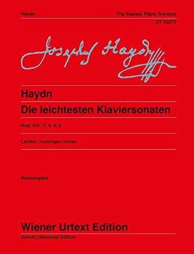 Die leichtesten Klaviersonaten, The Easiest Piano Sonatas (English and German (Easiest Piano Sheet Music)