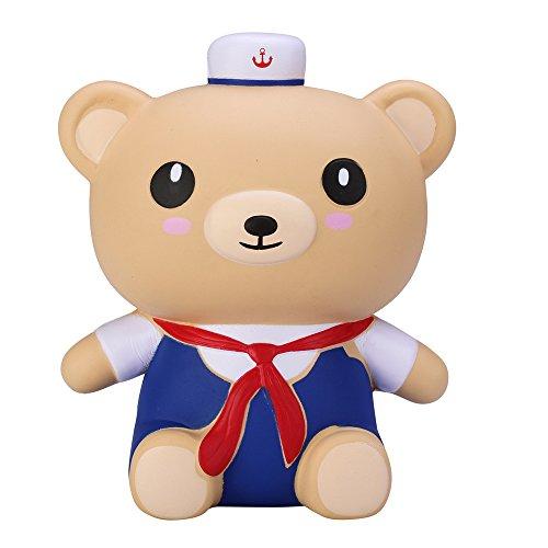 Squishy Bear Toys : VLAMPO Squishy Slow Rising Stress Toys Squishies Soft Jumbo Bear 6.7