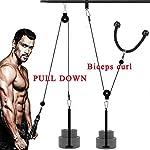 Sistema-di-puleggia-da-palestraDORSION-LAT-Machine-Atrezzi-Palestra-per-Casa-per-allenare-la-forza-del-braccio-cavo-per-tricipitiPolso-Roller-Braccio-Forza-Trainer