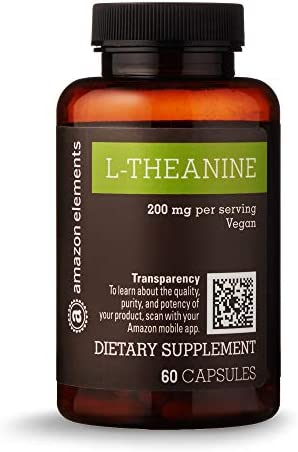 Amazon Elements L Theanine Capsules supply