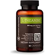Amazon Elements L-Theanine, 200mg, 60 Capsules, 2 month supply