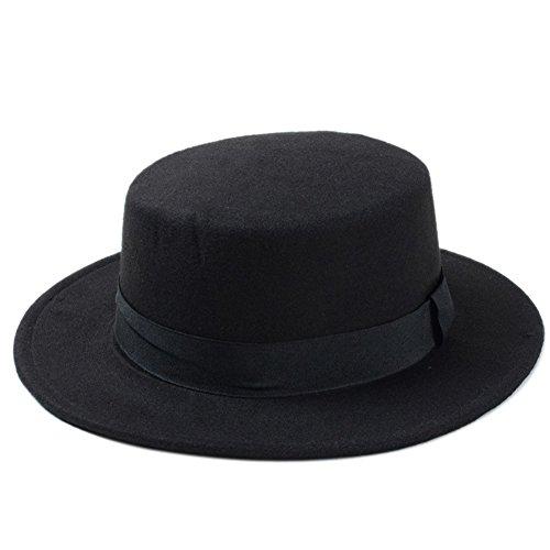 osierr6 Fedora Hat, 1940's Gangster Mafia Al Capone New York Felt Fedora Style Hat -