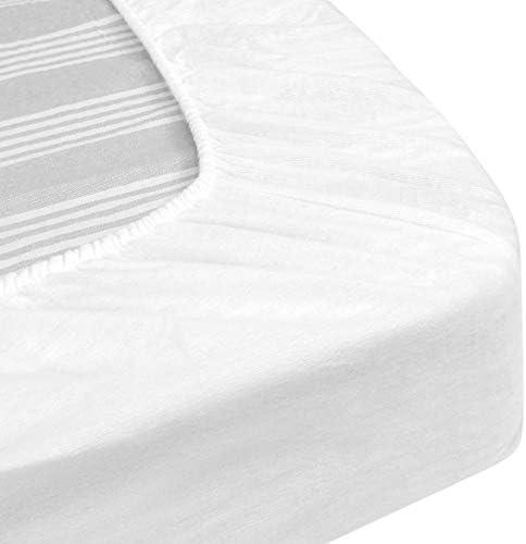 Protège Matelas imperméable 180x210 cm Bonnet 23cm Arnon Molleton 100% Coton contrecollé polyuréthane