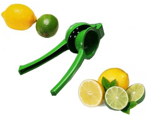 Chef's Star New Metal Lemon/Lime Squeezer/Hand Juicer with