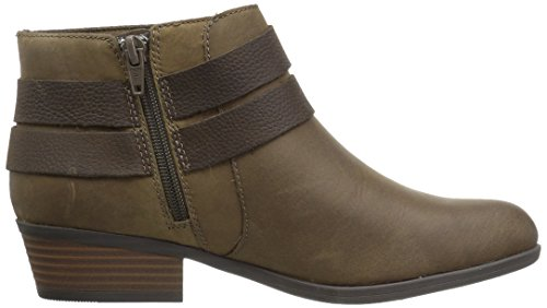 CLARKS Women's Addiy Cora Ankle Bootie Olive for sale footlocker best store to get cheap online buy cheap original shop online free shipping fast delivery T5dyYg