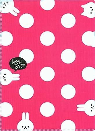 Protector escritorio carpeta plástico rosa turquesa gato lunares ...