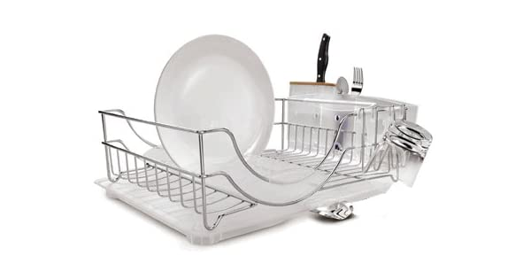 Amazon.com: Simplehuman KT1111 Dish Rack, acero inoxidable ...