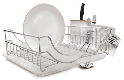 Amazon.com: Simplehuman KT1111 Dish Rack, acero inoxidable ...
