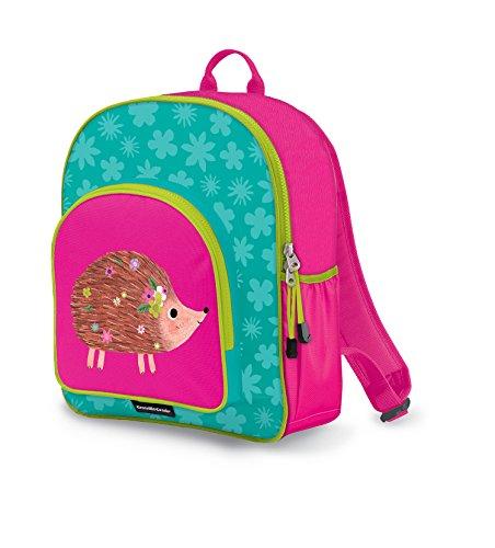 Crocodile Creek Eco Kids Girls Hedgehog School Bag Pack, Hot Pink, (Girl Hedgehog)