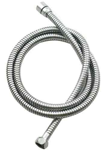 Jaclo 3060-SN Double Spiral Brass Hose, Satin Nickel