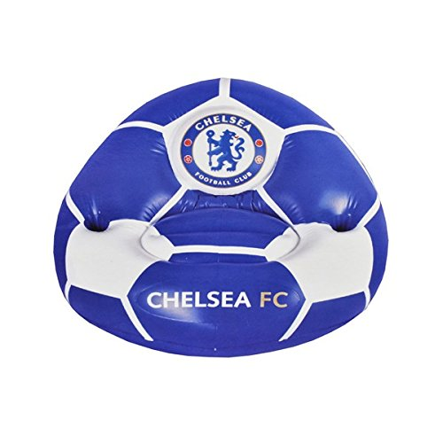 Sillón infantil hinchable con Chelsea FC el escudo de la ...