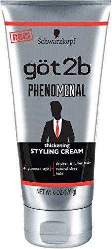Schwarzkopf got2b Phenomenal Thickening Styling Cream, 6 oz