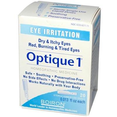 Boiron Personal Care Optique 1 Eye Drops 30 doses Homeopathic (Pack of 5) - Homeopathics Optique 1 Eye Drops