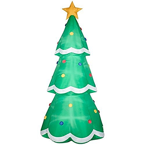 Airblown Inflatable-Christmas Tree Giant 10ft tall by Gemmy (Nylon Giant Inflatable)
