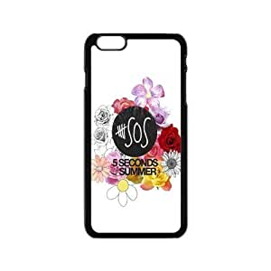 AMAF ? Accessories Custom Design 5 Seconds of Summer 5sos Durable Protector Plastic Snap On Cover Case for iPhone 6 (4.7 inch) [ 5 sos ] by Maris's Diary