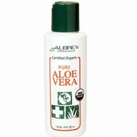 Aubrey Pure Aloe Vera 4 fl oz (118 ml) Liquid