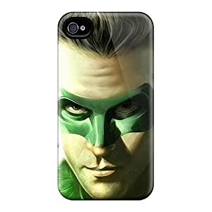 Scratch Resistant Hard Phone Covers For Iphone 6plus (Hqp16461vEUl) Custom Colorful Green Lantern Series hjbrhga1544