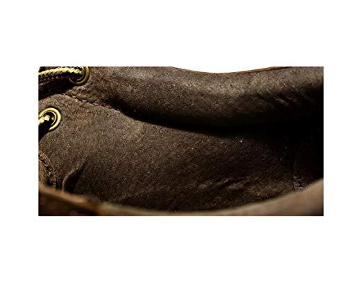 Traspirante Tonda Scarpe Scarpe Yellow Chic Punta Fondo A Scarpe Uomo Testa Oxford Rete Casual Lazy Scarpe Morbido 00qgwxR