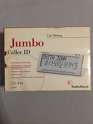 RADIO SHACK JUMBO CALLER ID