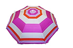 Remarkable Striped Garden Beach Umbrella Parasol Sun Shade Pink Amazonco  With Exciting Striped Garden Beach Umbrella Parasol Sun Shade Pink With Attractive Electric Garden Water Fountains Also Tinkerbell Fairy Garden In Addition Pink Garden Chairs And Gardens Vancouver Island As Well As Newcastle Garden Centre Additionally Yelp China Garden From Amazoncouk With   Exciting Striped Garden Beach Umbrella Parasol Sun Shade Pink Amazonco  With Attractive Striped Garden Beach Umbrella Parasol Sun Shade Pink And Remarkable Electric Garden Water Fountains Also Tinkerbell Fairy Garden In Addition Pink Garden Chairs From Amazoncouk