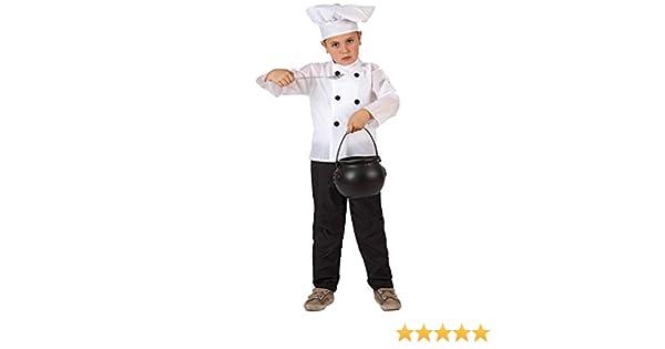 Disfraz de Cocinero para niños de 3 a 4 años: Amazon.es: Juguetes ...