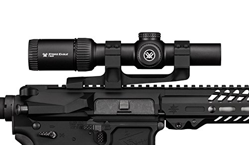 Bundle - Vortex Optics Strike Eagle 1-8 x 24 AR-BDC Reticle with Vortex Cantilever Ring Mount 2in Offset CM-202