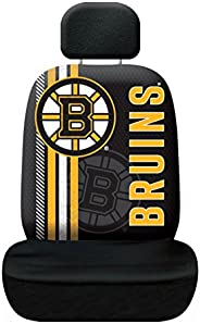 Fremont Die NHL Boston Bruins Rally Seat Cover, One Size, Black