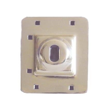 New Life Products 37-652ISB Door Deadbolt Defender Latch Guard Door Reinforcer 5  sc 1 st  Amazon.com & New Life Products 37-652ISB Door Deadbolt Defender Latch Guard ...