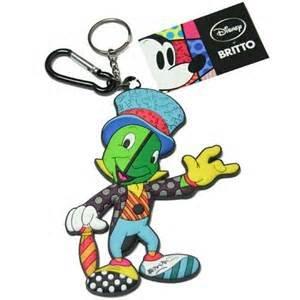 Amazon.com: Disney Pepito grillo Jumbo llavero mosquetón de ...