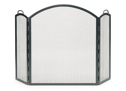 Minuteman International SSS-05L Arched Three-Part Folding Screen, Large