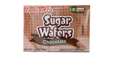 (Uncle Al's Chocolate Sugar Wafers - 2.75 oz (Pack of 12))